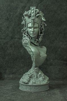 Medusa Printed! by mufizal.deviantart.com on @deviantART