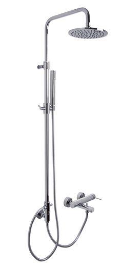 Mezclador para bañera con columna, rociador y mango de ducha / F3034/2 / FIMA - Carlo Frattini