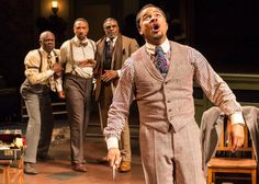 """One incredible tale. Michael Paulson reports for The NY Times. """"The work of August Wilson has for years sustained Brandon and Jason Dirden, actor brothers who have found themselves turning again and again to his plays for meaning and inspiration.  Now, for the first time, the two are playing the same role, at the same time, on opposite coasts: Levee, the angrily ambitious trumpeter in one of Wilson's best-known plays, """"Ma Rainey's Black Bottom."""" I'd love to see both productions."""