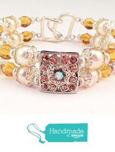 Czech Glass, Topaz, Vintage Inspired, High Heels, Beaded Bracelets, Amazon, Awesome, Coupon, Handmade