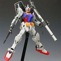 Custom Build: MG RX-78-2 Gundam ver.ke2007 ~ The details that evolved ~ - Gundam Kits Collection News and Reviews