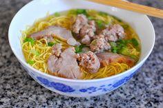 Hu Tieu Mi - Vietnamese Pork Noodle Soup by Cathy Danh