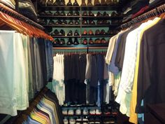 My Closet organization
