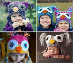 Crochet Owl Hat  Want to sell your crochet art pieces ?Need marketing tools to Facebook, Linkedin and Twitter? Get free trial now : http://victory100.com/fijmaluijk