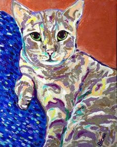 Cougar, bengal cat
