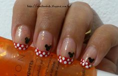 Minnie Mouse, but i don't like the gold glitter overlay.
