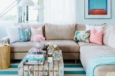 Quick Decor Tip: Make Your Living Room Appear Bigger