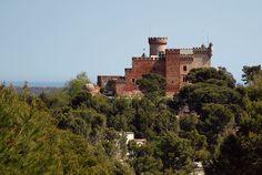 Castle. Chateau. Castelldefels