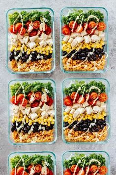 Meal Prep Southwest Chicken Burrito Bowls - Jar Of Lemons Lose weight & stay on budget with these healthy recipes for weight loss! Meal prep these healthy lunches and clean eating dinners ahead to save time & enjoy weight loss & lose belly Burrito Bowl Meal Prep, Meal Prep Bowls, Burrito Bowls, Easy Lunch Meal Prep, Taco Meal, Chicken Burrito Bowl, Taco Bowls, Meal Prep Cheap, Veg Meal Prep