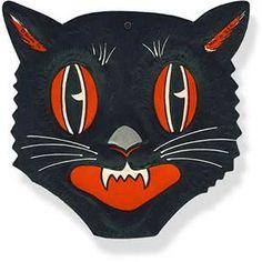 vintage halloween cats - Bing Images