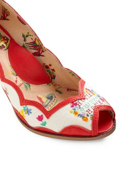 cross stitched shoes? yes, please!