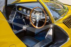 Ferrari Dino 206 Competizione Dashboard - Limited Edition Fine Art Print