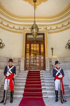 Guardia de Honor, 'Granaderos de San Martín' custodian La Casa Rosada, Buenos Aires, AR
