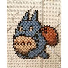 Totoro hama beads by beadsbysandra