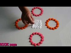 Very easy two minute rangoli design by DEEPIKA PANT - YouTube