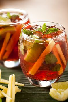 Ginger, Mint and Cranberry  Detox