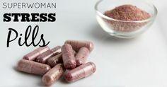 Natural Stress Relief Pills
