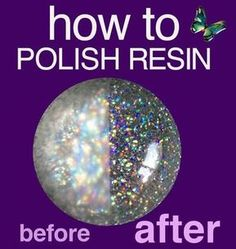 POLISHING RESIN - resin art - Resin, molds and supplies for jewelry, photos, crafts – Little Windows - Epoxy Resin Art, Diy Epoxy, Diy Resin Art, Diy Resin Crafts, Wood Resin, Resin Molds, Diy Resin Mold, Resin Pour, Stick Crafts