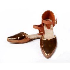Buy Strappy Metallic@INR 1268 www.prideswalk.com