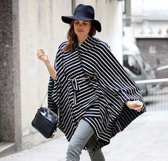 Patrón capa: cómo hacer tu abrigo de moda sin coser
