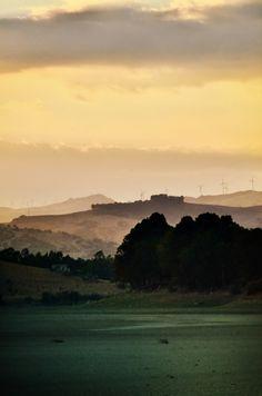 tramonto dal lago di Pozzillo (Enna) ©Alberta Dionisi