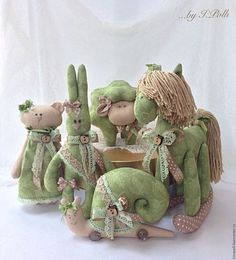 Комплект для детской Яблочный аромат Лошадка Барашек Улитка Заяц Мишка