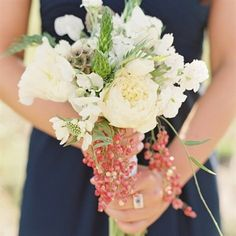 Berry Bridesmaid Bouquet