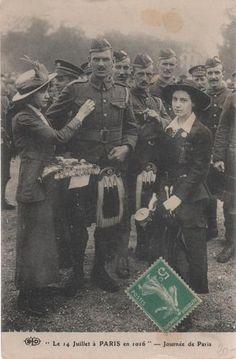Scottish Soldiers in Paris, WWI