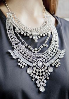 Glamorous Over The Top Statement Necklace 28,90 € #happinessbtq