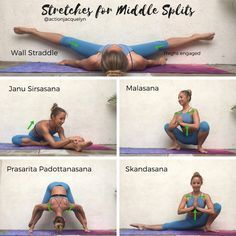 Action Jacquelyn | Stretches for the Middle Splits