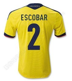 3a7cf2b46b9 Lionel Messi Argentina 2014 FIFA World Cup Away Shirt. Vamos Argentina ·  Messi · Andres Escobar #2 in current #Colombia kit Colombia, Html, Most  Beautiful,