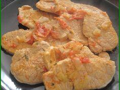 Escalopes de Porc à la Portugaise
