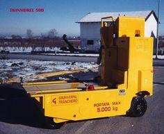 Transidrel 50B Gruniverpal, zvedací přepravník určený pro zvedání a přepravu nákladů / vstřikovacích forem až do 5.000 kg. Trucks, Vehicles, Truck, Track, Car, Vehicle