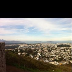View from Twin Peaks!