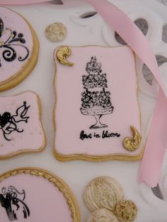 Wedding Stamped Cookies
