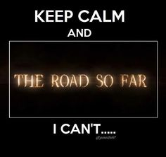 """Keep calm and... I can't..."" 