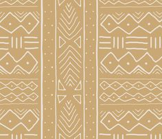 Mudcloth in bone on camel by domesticate