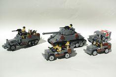 Billedresultat for lego krig Lego Soldiers, Lego Ww2, Lego Army, Lego Truck, Lego Craft, Lego Mecha, All Lego, Lego Toys, Lego Worlds