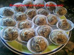 Recopilatorio de recetas : Trufas de queso con licor café y nueces en thermom...