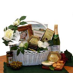 Wedding Wishes Gift Basket Medium