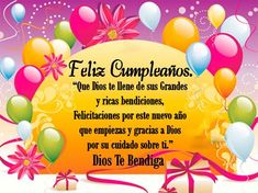 tu gracia me salvo Happy Birthday Wishes Cards, Happy Birthday Quotes, Birthday Messages, Spanish Birthday Cards, Happy Birthday In Spanish, Congratulations, Birthdays, Candy, Lettering