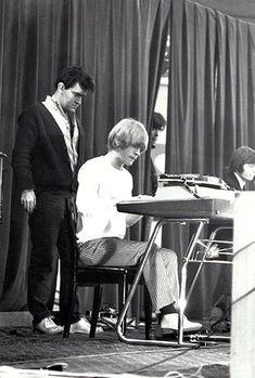 Ian Stewart and Brian Jones