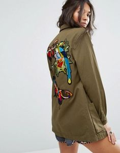 Search: military jacket women - Page 1 of 1   ASOS