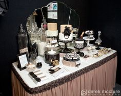 Party Inspirations: The Great Gatsby Themed Dessert Table