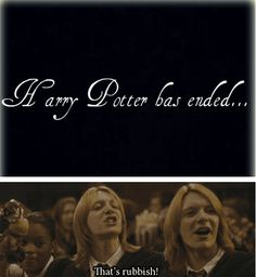 The movies and books may be over, but the magic never ends. The story will be passed on to generations to come, and thus will never die. Harry Potter lives on.