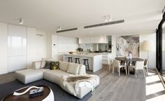 House tour: Penthouses shine in Melbourne's South Yarra - The Interiors Addict