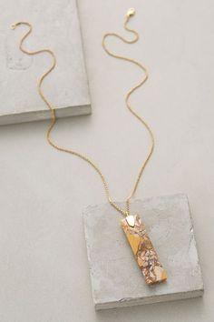 Nouveau Pendant Necklace #anthrofave
