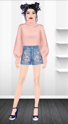 Fashion Stardoll  Jogo de Moda @rafaela.liberal Stardoll : rafaela_liberal Ballet Skirt, Skirts, Fashion, Fashion Games, Moda, Tutu, Fashion Styles, Skirt