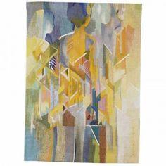"Nini Anker Dessen / absolutetapestry.com ""Ventende"" - 2000 (Waiting) 140x105 cm"