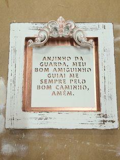 Quadro Oração Anjo da Guarda!